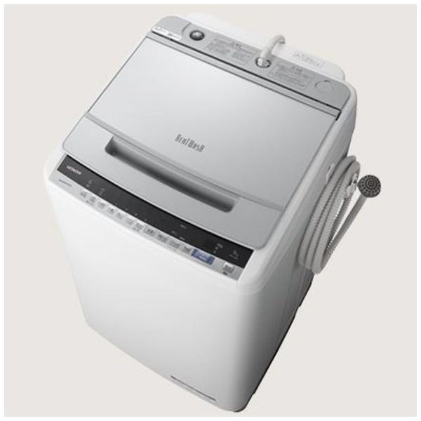日立 ビートウォッシュ9.0kg 全自動洗濯機 BW-V90E-S