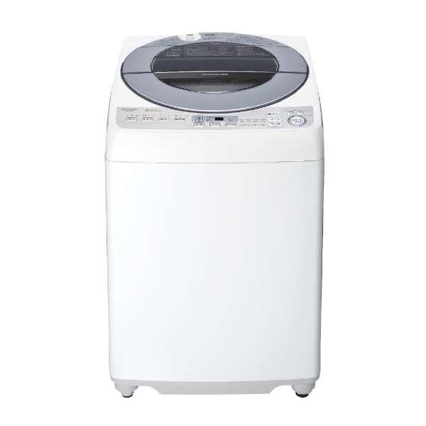 シャープ 8.0kg 全自動洗濯機 ES-GV8D-S