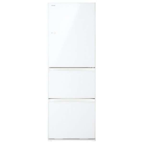【標準設置無料】東芝 べジータ GR-R36SXVL-EW 363L 3ドア冷蔵庫【←左開き】
