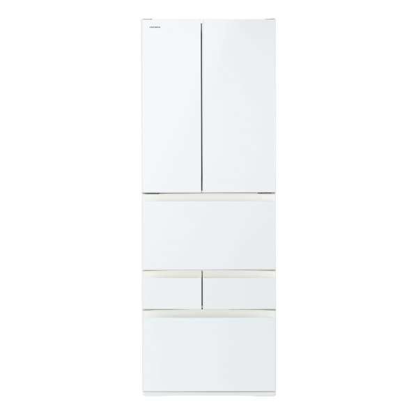 【標準設置無料】東芝 べジータ GR-R510FH-EW 509L 6ドア冷蔵庫
