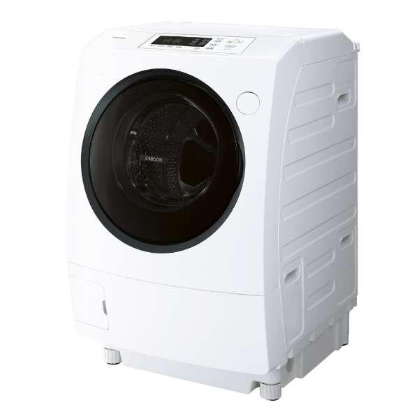 東芝 ZABOON 9.0kg ドラム式洗濯乾燥機【←左開き】 TW-95G8L-W