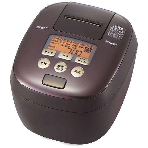 タイガー 炊きたて 360°design 可変W圧力IH5.5合炊き 圧力IH炊飯ジャー JPC-H100TP