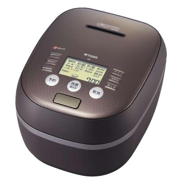 タイガー 炊きたて 5.5合炊き土鍋圧力IH炊飯ジャー JPH-A102TM