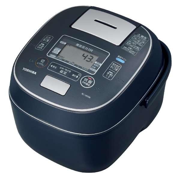 東芝 合わせ炊き5.5合炊き真空圧力IHジャー炊飯器 RC-10VSNL
