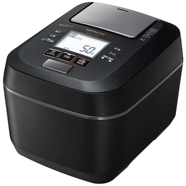 日立 ふっくら御膳 5.5合炊き 圧力スチームIHジャー炊飯器 RZ-W100CM-K