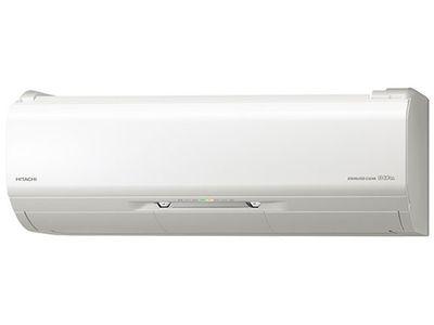 日立19年モデルXシリーズ RAS-XJ25J-W【ステンレス・クリーン】8畳用冷暖房エアコン