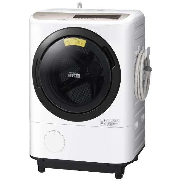 【お届け約1~2ヶ月ご予約受付中】日立 ビッグドラム12.0kg ドラム式洗濯乾燥機 BD-NV120EL-W【左開き←】
