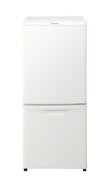 パナソニック 138L パーソナル冷蔵庫 NR-B14CW-W