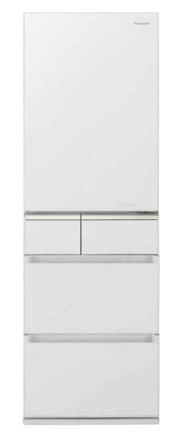 パナソニック 406L パナソニック パーシャル搭載冷蔵庫 NR-E415PVL-W 左開き【標準設置無料】