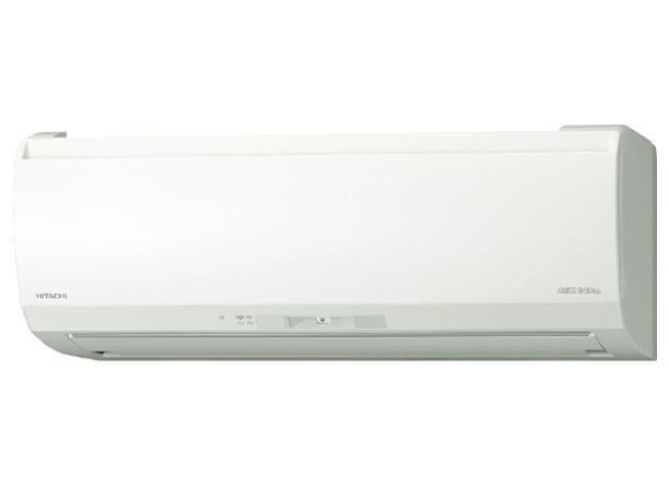 日立 20年モデルEKシリーズメガ暖 白くまくん RAS-EK25K2-W 8畳用冷暖房エアコン