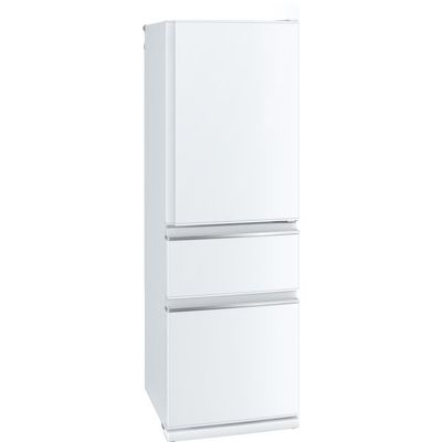 【標準設置無料】三菱電機 3ドア冷蔵庫【←左開き】MR-CX37EL-W