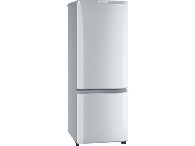 三菱電機 168L 2ドア冷蔵庫 MR-P17E-S