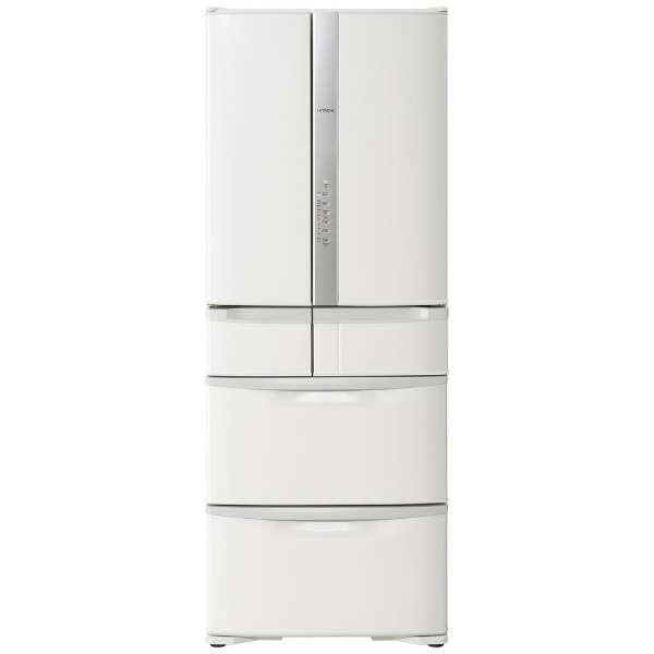 【基本設置無料】日立 475L 6ドア冷蔵庫 R-F48M4-W 創業74年、新品不良交換対応