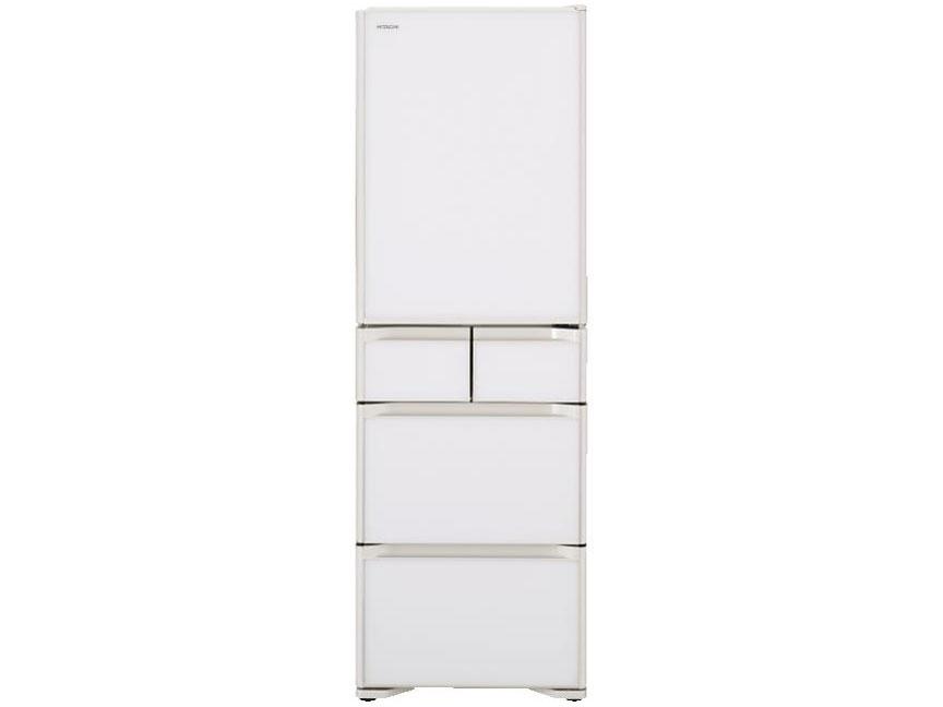 【基本設置無料】日立 401L 5ドア冷蔵庫 R-S40KL-XW【←左開き】創業74年、初期不良対応