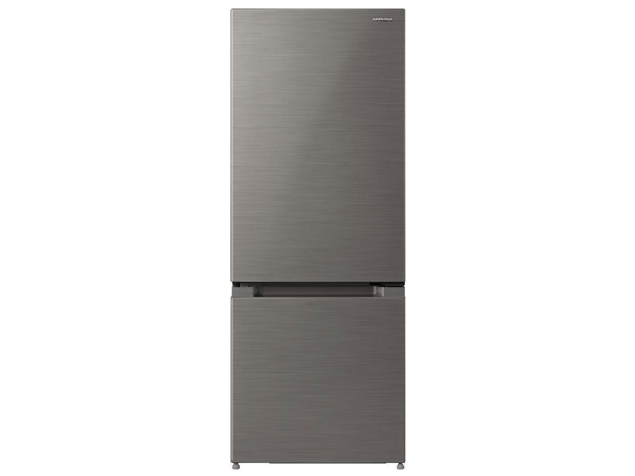 日立 154L 2ドア冷蔵庫 RL-154KA-S 創業74年、初期不良対応