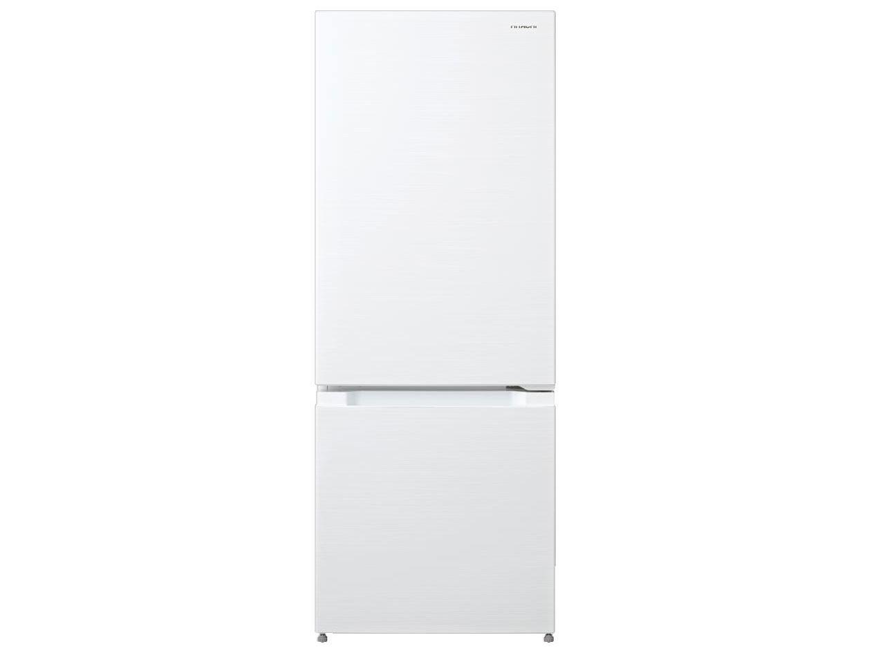 日立 154L 2ドア冷蔵庫 RL-154KA-W 創業74年、初期不良対応