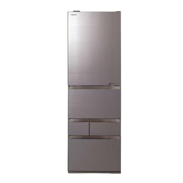 【標準設置無料】東芝 べジータ 465L 5ドア冷蔵庫【→右開き】 GR-S470GZ-ZH