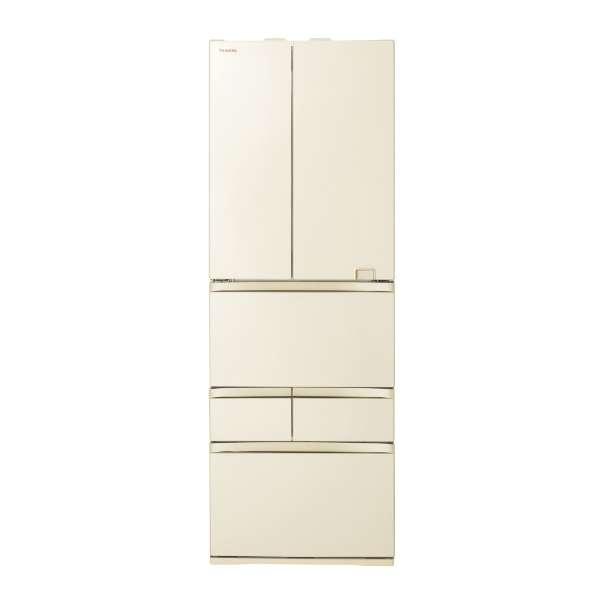 【標準設置無料】東芝 べジータ 508L 6ドア冷蔵庫 GR-S510FZ-ZC