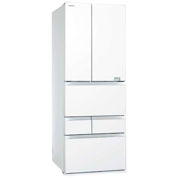 【標準設置無料】東芝 べジータ 601L 6ドア冷蔵庫 GR-S600FZ-UW