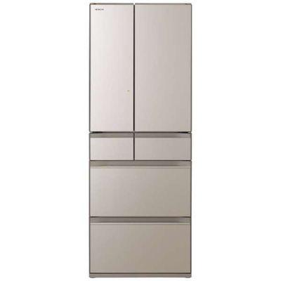 日立 602L 6ドア冷蔵庫 R-HW60N-XN 【標準設置無料】 創業74年、初期不良対応