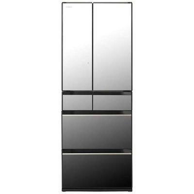 日立 602L 6ドア冷蔵庫 R-HX60N-X 【標準設置無料】 創業74年、初期不良対応