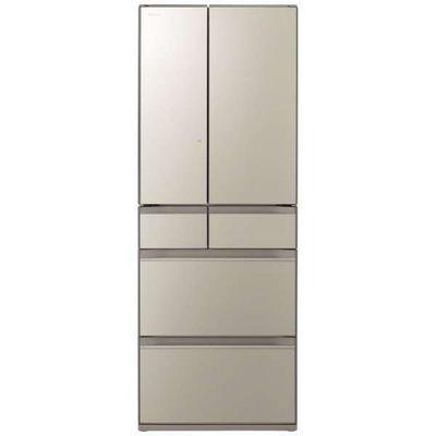 日立 602L 6ドア冷蔵庫 R-HX60N-XN 【標準設置無料】 創業74年、初期不良対応