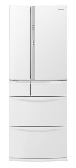 【標準設置無料】 パナソニック 451L エコナビ搭載冷蔵庫NR-FV45S6-W