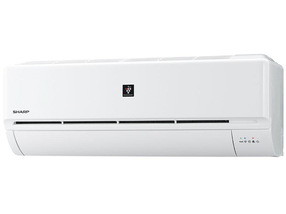 シャープ 20年度モデルDシリーズ 高濃度プラズマクラスター25000搭載 AY-L56D2-W 冷暖房タイプ18畳用エアコン