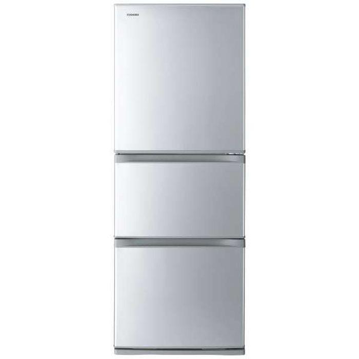 【標準設置無料】東芝 VEGETA 330L 3ドア冷蔵庫 GR-S33S-S