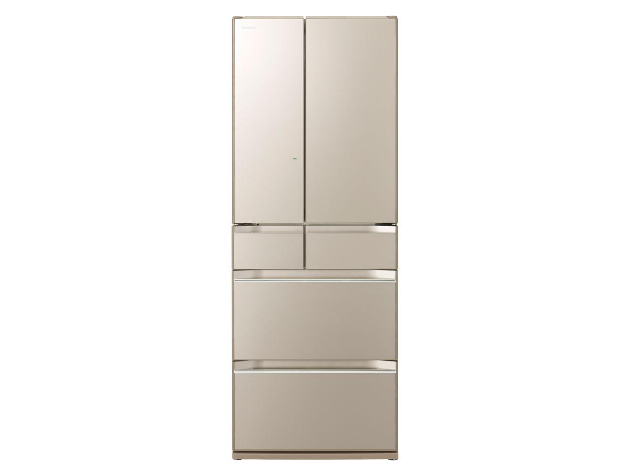 【基本設置無料】日立 WXシリーズ 567L 6ドア冷蔵庫 R-KW57K-XN 創業74年、初期不良対応
