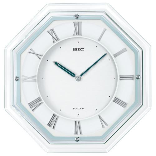SF503W セイコー 掛け時計 薄型ソーラープラス