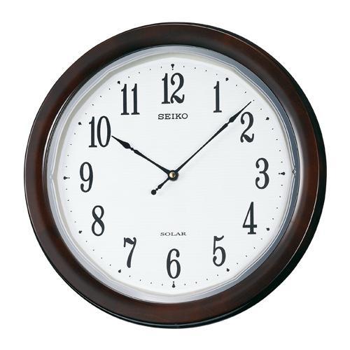 SF504B セイコー 掛け時計 薄型ソーラープラス