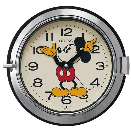 FS504S セイコー ディズニー 掛け時計