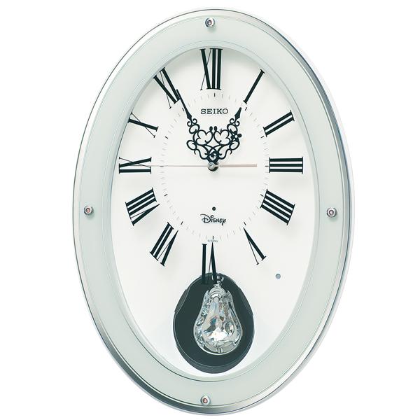 セイコー FS508W ディズニー 掛け時計