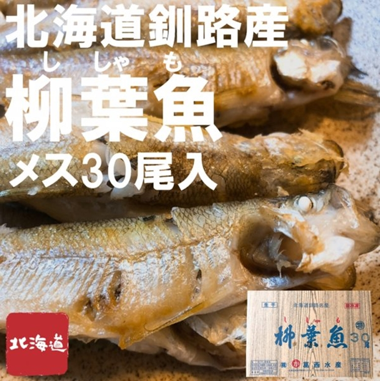 低価格 北海道釧路市の名産物 カラフトシシャモとの違いを是非ともお試しください 北海道釧路産 1パック30尾入 本日の目玉 生干し本ししゃも メス