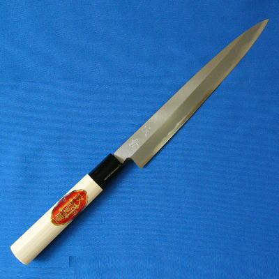 柳刃包丁 210mm 白鋼【包丁】【日本製】