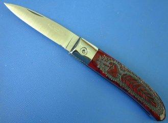 LONE WOLF KNIVES(ローン ウルフ) Loveless City Knifeブラッディー ベイスン イーグルフェザー限定品