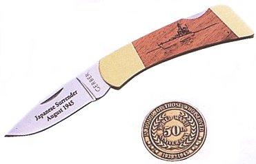 GERBER(ガーバー) 6197 FS I(フォールディング スポーツマン I)終戦50周年記念ナイフ