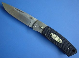 RIGID KNIVES(リジッド ナイブズ) RG-15 DESERT STORMボタンロック ドロップポイント 限定品