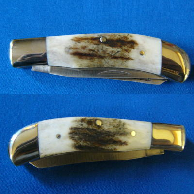 BROWNING(ブローニング)520 ウネリ シカ骨 2刀