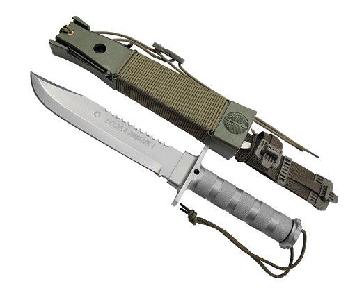 AITOR(アイトール)ジャングルキング I シルバーサバイバルナイフ