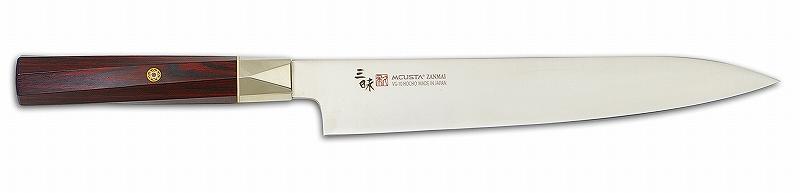 MCUSTA(エムカスタ)三昧 ツイストシリーズツイストハンドル VG-10 ブレイドフレンチ 225mm TZX2-4006V