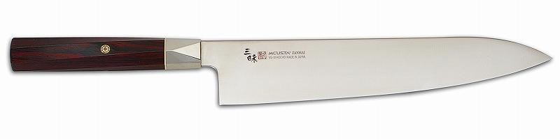 MCUSTA(エムカスタ)三昧 ツイストシリーズツイストハンドル VG-10 ブレイド牛刀 240mm TZX2-4007V