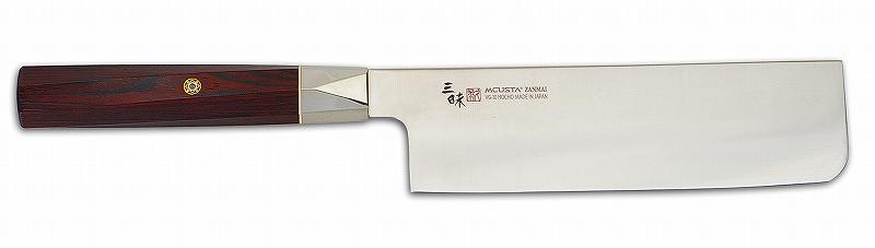 MCUSTA(エムカスタ)三昧 ツイストシリーズツイストハンドル VG-10 ブレイド菜切 165mm TZX2-4008V