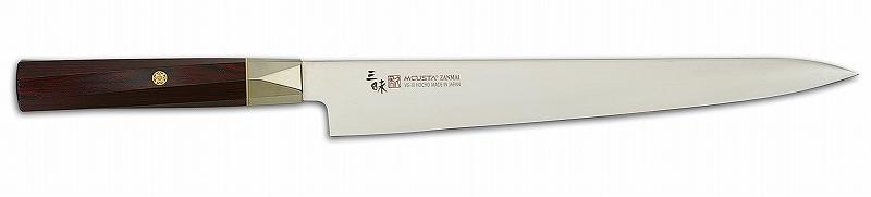 MCUSTA(エムカスタ)三昧 ツイストシリーズツイストハンドル VG-10 ブレイド筋引 255mm TZX2-4009V