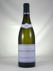 ピーチ 蜂蜜 アカシアの花の華やかなアロマ ブリュノ クレール ペルナン ヴェルジュレス CLAIR ブラン Pernand-Vergelesses 白Bruno 驚きの値段 毎日激安特売で 営業中です Blanc 2012 750ml