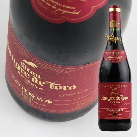 鮮やかなルビー色の色合いで、ブラックベリーやレッドカラントなどのリッチなアロマ。 【トーレス】 グラン サングレ デ トロ [2016] 750ml・赤Torres  Gran Sangre de Toro