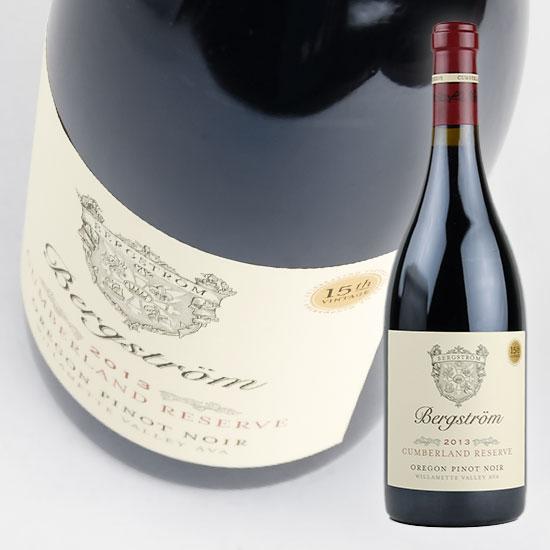 【ベルグストロム】 ピノ ノワール ベルグストロム ヴインヤード [2015] 750ml・赤 【Bergstrom】 Pinot Noir Bergstrom Vineyard