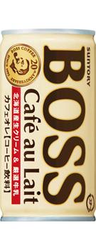無料 1本あたり60円 缶コーヒー サントリー BOSS《ボス》 カフェオレ 190g 1ケース《30本入》《1配送あたり最大3ケースまで同梱OK 》 缶 AL完売しました