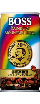 1本あたり60円 特売 缶コーヒー サントリー BOSS《ボス》 レインボーマウンテンブレンド 通常便なら送料無料 190g 》 缶 1ケース《30本入》《1配送あたり最大3ケースまで同梱OK